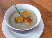 Prepara una sopa de topinambur