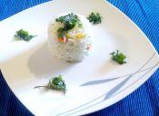 Prepara un fácil arroz al microondas