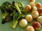   Salteaditos de brócoli picante y vino blanco