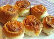 Prepara rolls de jamón y queso