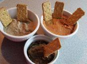 3 salsas para untar con berenjena