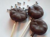Cómo preparar gomitas cubiertas de chocolate