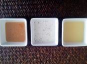 3 vinagretas para ensaladas