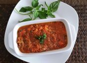Preparar salsa de tomates a la italiana
