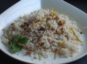 Cómo hacer arroz cítrico