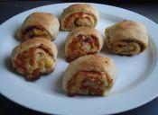 Cómo hacer Stromboli (rollo de pizza)