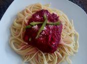 Cómo cocinar salsa de betarraga para pastas