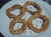 Preparar roscas de pan árabe