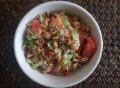 Cómo hacer ensalada italiana