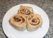 Preparar cinnamon rolls veganos