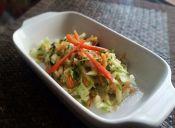 Ensalada del huerto con salsa verde
