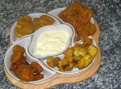 Preparar pakoras (receta hindú)