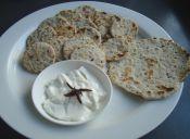 Cocinar crackers (galletas saladas de avena)