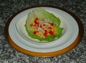 Receta de ensalada de lechuga y garbanzos