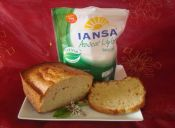 Queque casero light con Stevia