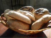 Pan amasado a la parrilla