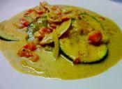 Receta paso a paso: Curry de zapallo italiano