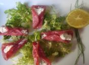 Picoteo: Cucuruchos de salame