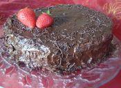 Torta negra del diablo