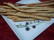Picoteos: Grisines saborizados
