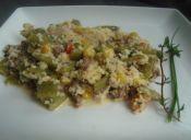 Cuscús cremoso con verduras