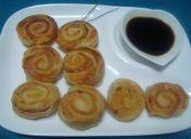 Picoteo: Espirales de jamón y queso