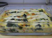 Receta: Budín de espinacas