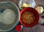 Quiche de choclo y salsa bechamel