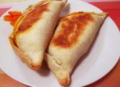 Empanadas con pino de soya