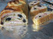 Pan de Jamón con masa de hoja