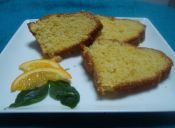 Orange cake - Queque de Naranja entera
