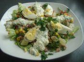 Receta: Salpicón de verduras con salsa de limón