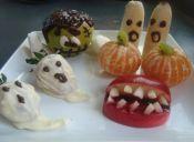 5 formas de adornar frutas para Halloween