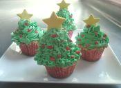 Cómo preparar Cupcakes navideños