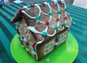 Cómo hacer una Casita navideña de galletas