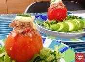 Receta: Tomates rellenos con atún