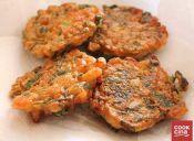Receta: Hamburguesas de camarones