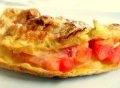3 formas distintas de rellenar un Omelette