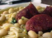 Comida chilena: porotos con riendas