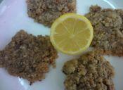 Receta: galletas de limón y nueces