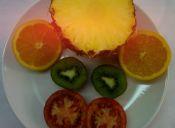 Los nutrientes de frutas y verduras según su color