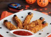 Recetas Halloween: garritas de pollo