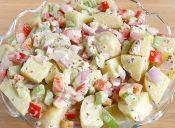 Recetas veraniegas: ensalada de papas con aderezo