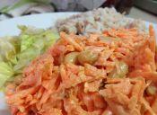 Ensalada de zanahoria con maní: no falla