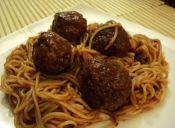 Receta de película: Espaguetis con albóndigas