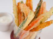 Receta: Verduras tempura