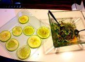 Receta veraniega: Ceviche de cebolla con carpacho de zapallo italiano