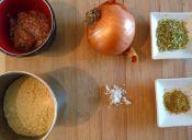 Prepara un Budin de garbanzo y cebolla
