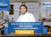 ¿Te gustaría ganar una clase de cocina con Chris Carpentier?