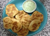 Prepara un Pan de crema con salsa verde